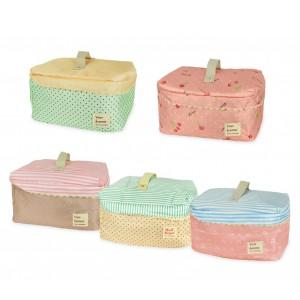 2666 Beauty case da viaggio varie fantasie mod. Dolly organizer bag portatutto