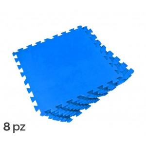 58220 Tappeto componibile in gomma per piscine 8 pezzi 50 x 50 cm Bestway