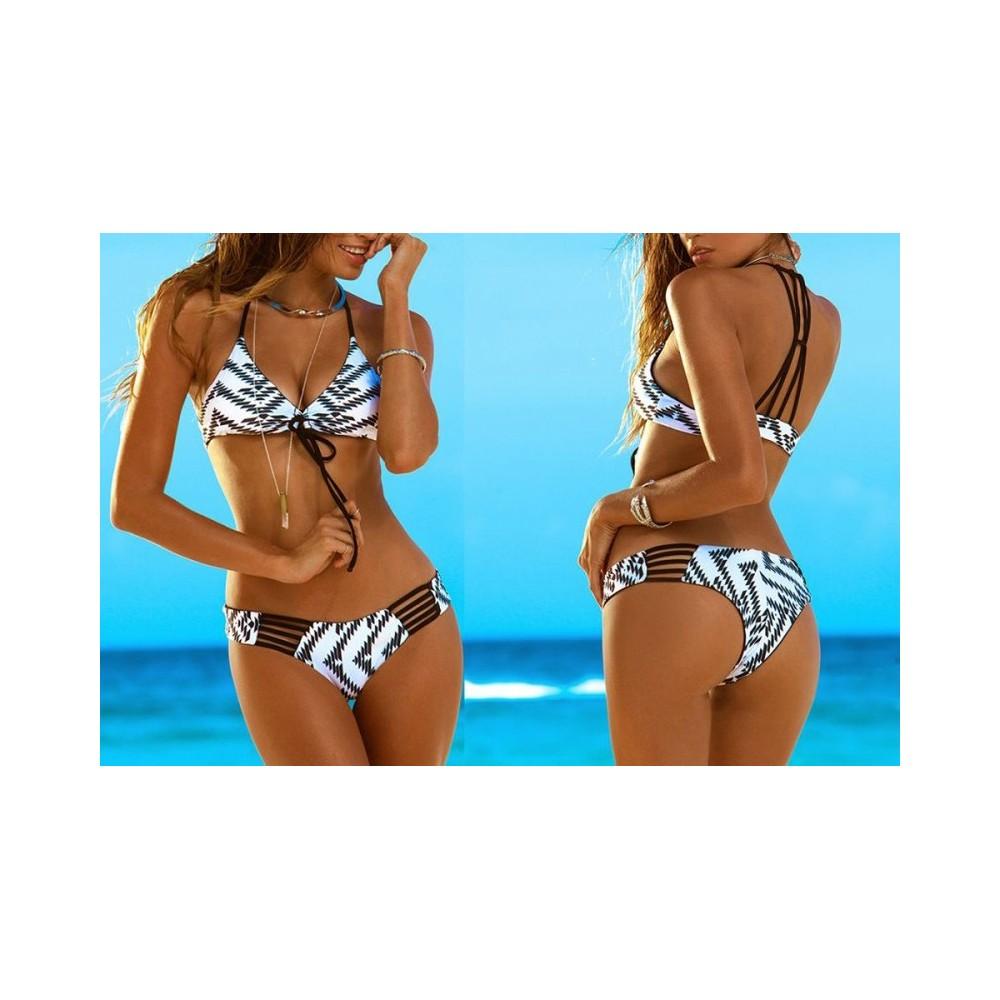 Costume bikini donna modello Kamala by MWS AHEAD fantasia etnica