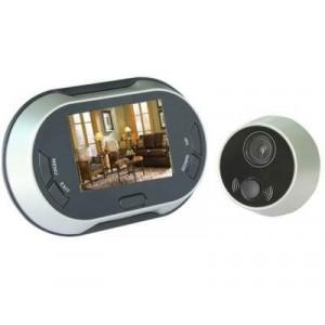Image of Spioncino telecamera display digitale registra video foto colori lcd 3.5 peephol 8000000155771