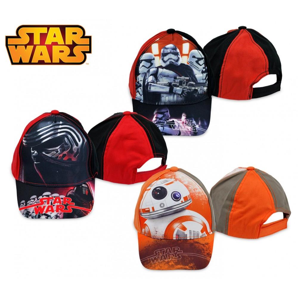 SWE7041 Berretto per bambini Star Wars regolabile e con visiera parasole