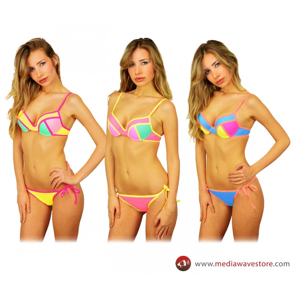F2951 Costume bikini mod. Beverly H. collezione California by MWS AHEAD