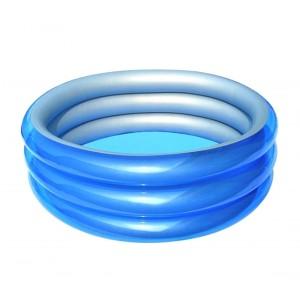 51043 Piscina gonfiabile Bestway 3 anelli 201 x 53 cm interno riflettente