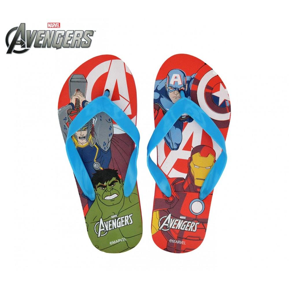 MW92268 Ciabatte infradito in gomma per bambino The Avengers