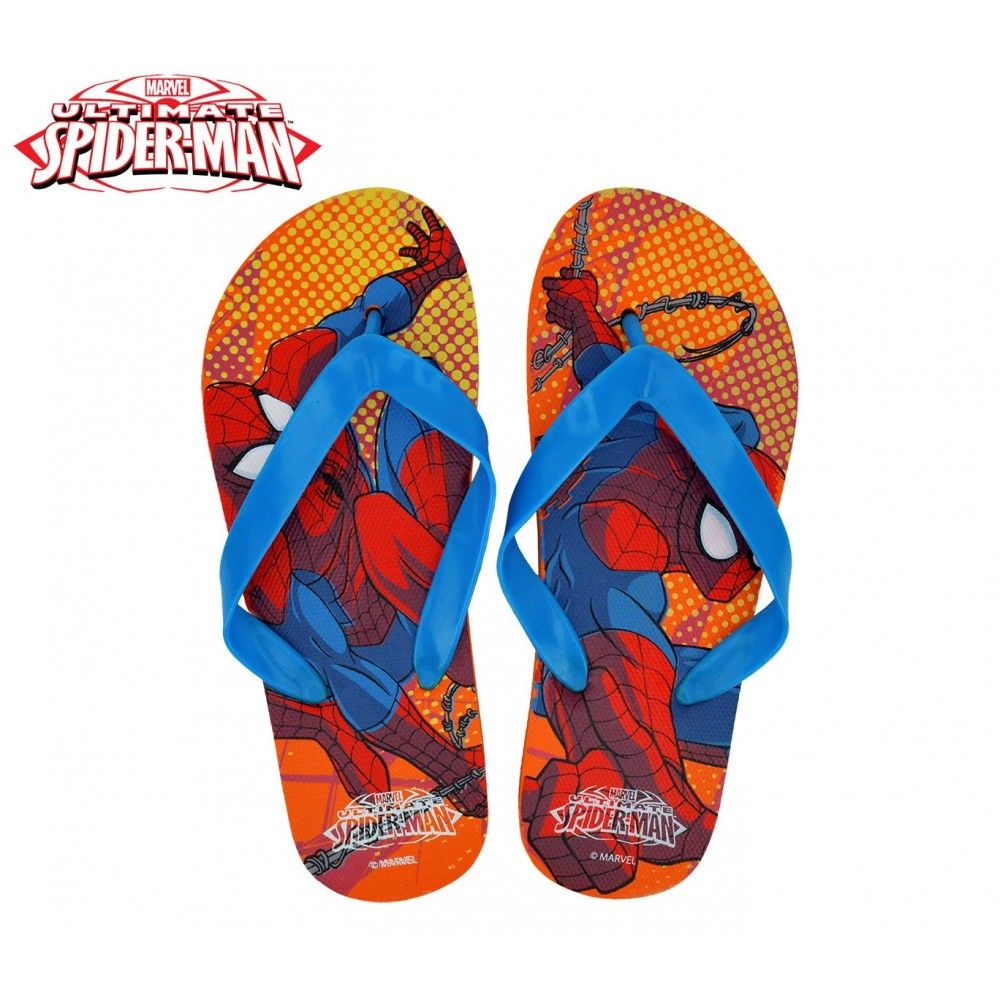 premium selection a165d a6f35 MV92267 Ciabatte infradito in gomma per bambino Spiderman