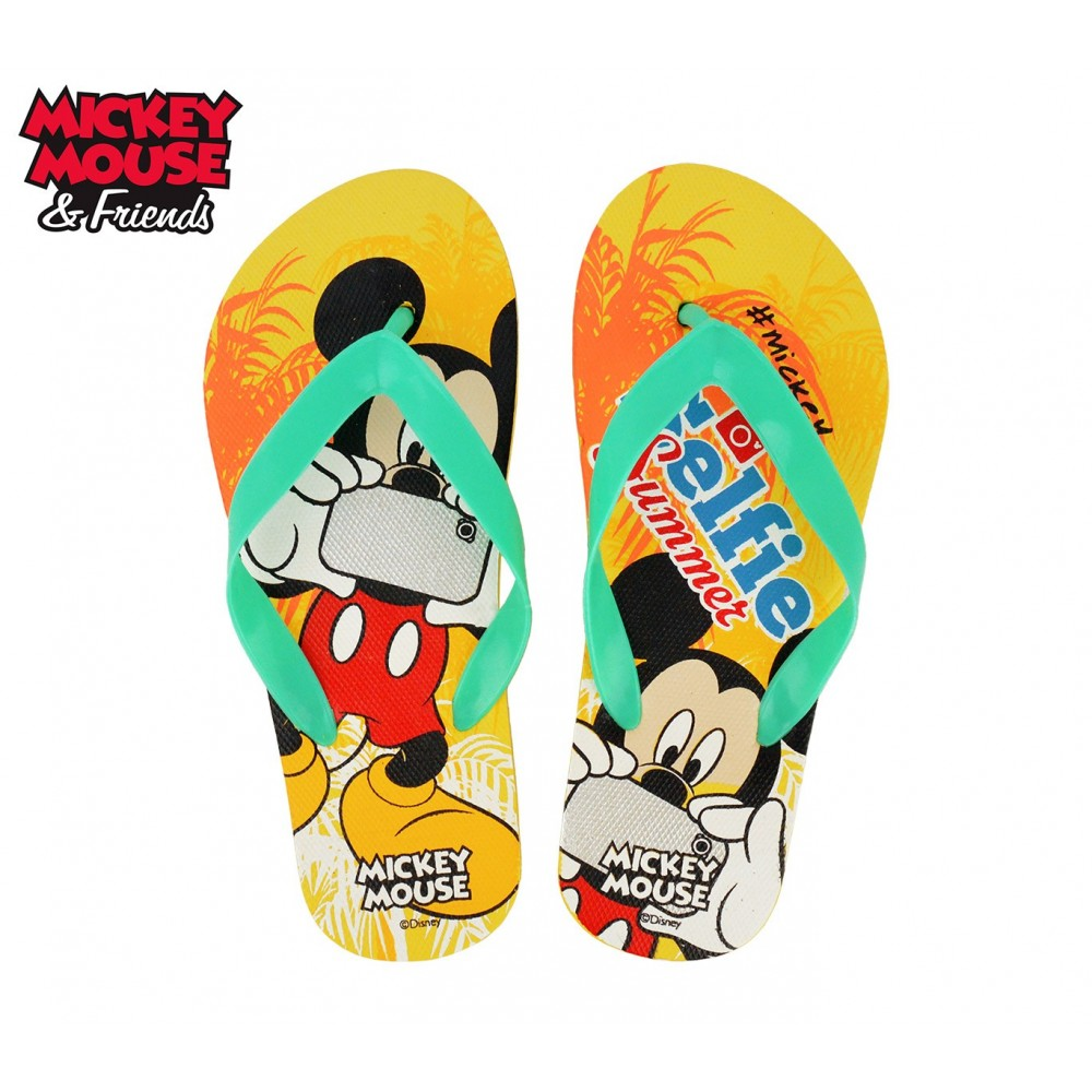 WD16982 Ciabatte infradito in gomma per bambino Mickey Mouse
