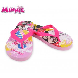 WD16983 Ciabatte infradito in gomma per bambino Minnie Mouse