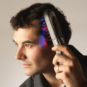 Spazzola rigenerante per cuio capelluto trattamento laser