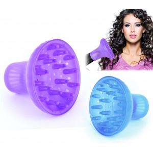Diffusore MAXI universale per phon asciugacapelli in plastica capelli mossi