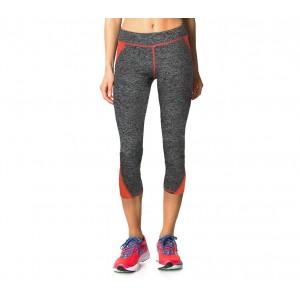Image of H722 Leggings donna sportivo al polpaccio tessuto tecnico palestra e corsa 8000180002353