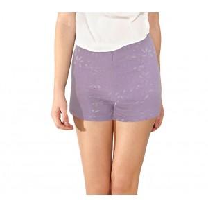 Image of F9330 Shorts donna mod. Denise pantaloncino ricamato in morbido tessuto elastico 8000140000023