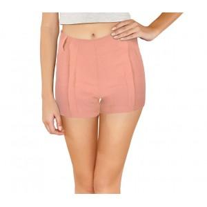Image of F9337 Shorts donna mod. Nice pantaloncino con zip in morbido tessuto elastico 8000148484665