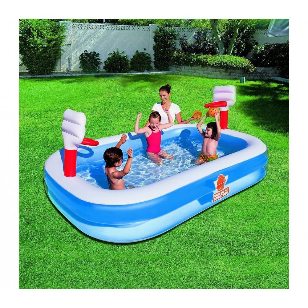 54122 piscina gonfiabile bestway pallacanestro 2 anelli - Gonfiabili piscina amazon ...