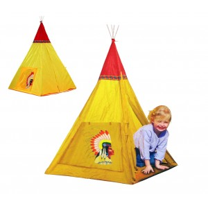 Image of 167755 Tenda da gioco degli indiani 100x100x135 cm con sistema pop up Cigioki 8014859665411