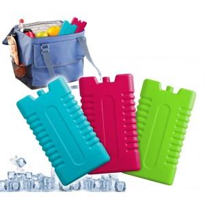 Set da 3 panetti di ghiaccio sintetico FREE-GO per borsa termica da 250 ml