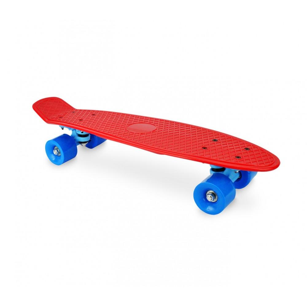 Skateboard mini cruiser da bambini con ruote tavola da skate 56 cm