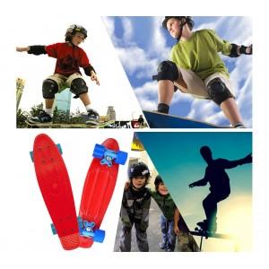 Skateboard mini cruiser da bambini Skate'n Go con ruote tavola da skate 56 cm