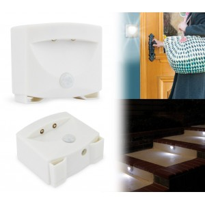 54897 Lampada luce led notturna con sensore di movimento da parete