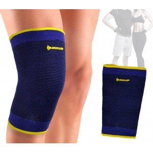 99045 Fascia elastica DUNLOP ginocchiera supporto per ginocchio