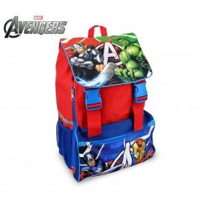 Image of AV16101 Zaino a spalla estensibile scuola The Avengers 41x28,5x20 cm 8095096813544