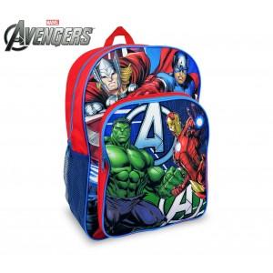 Image of AV16102 Zaino a spalla adattabile per trolley scuola The Avengers 42x31x12 cm 8031546696053