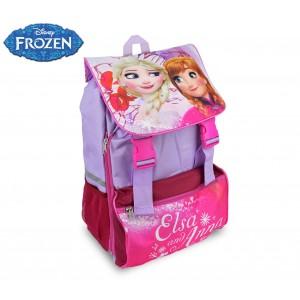 Image of FR16101 Zaino a spalla estensibile scuola Disney Frozen 41x28,5x20 cm 8061661846507