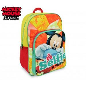 MK16102 Zaino a spalla adattabile per trolley scuola Mickey Mouse 42x31x12 cm