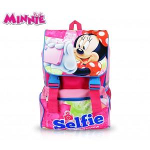 MI16101 Zaino a spalla estensibile scuola Minnie Mouse 41x28,5x20 cm