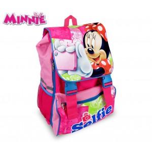 Image of MI16101 Zaino a spalla estensibile scuola Minnie Mouse 41x28,5x20 cm 8015236410310