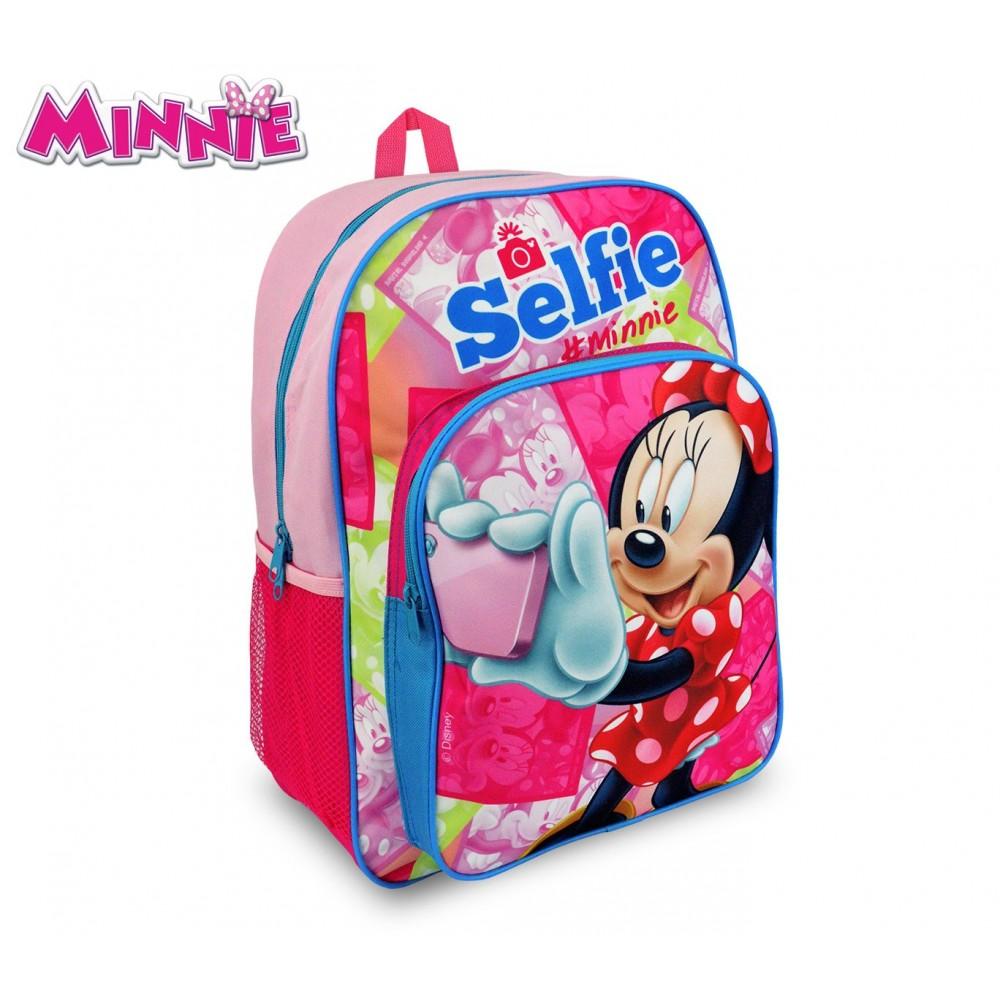 Zaino Trolley Per La Scuola Estensibile 40 CM Disney Minni Minnie Elementari