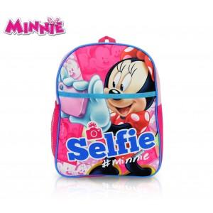MI16105 Zaino scuola asilo elementari e tempo libero Minnie Mouse 31x25x10 cm