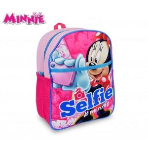 Image of MI16105 Zaino scuola asilo elementari e tempo libero Minnie Mouse 31x25x10 cm 8002135646414