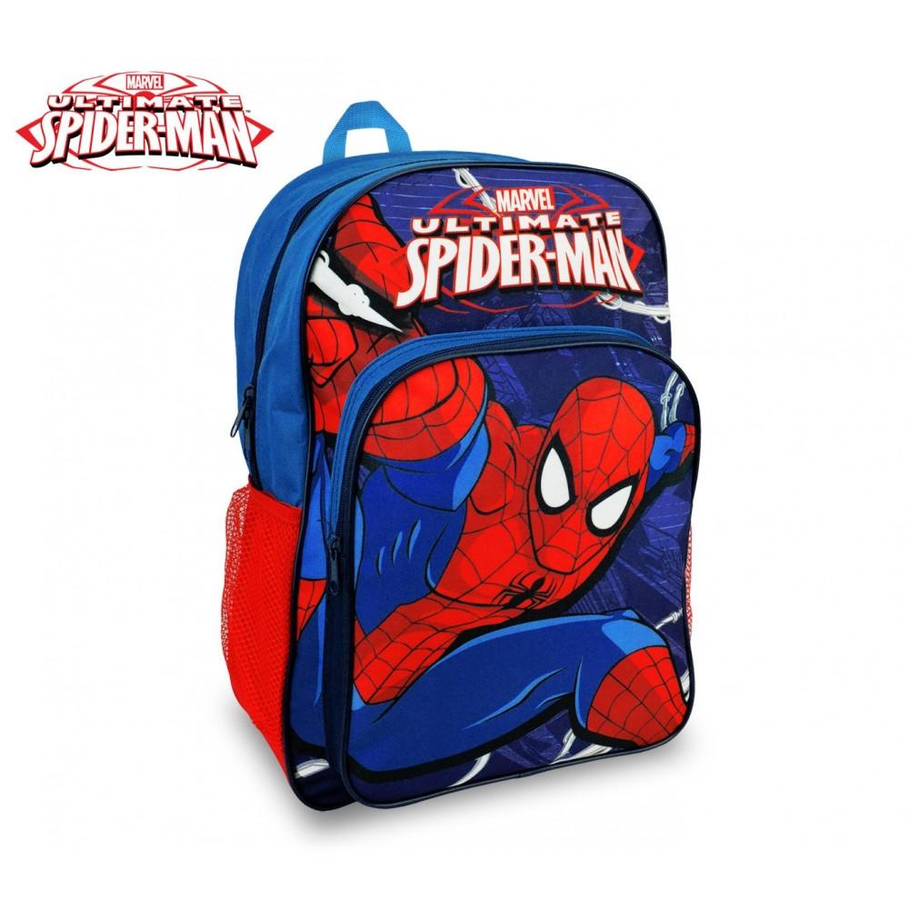 SP16102 Zaino a spalla adattabile per trolley scuola Spiderman 42x31x12 cm