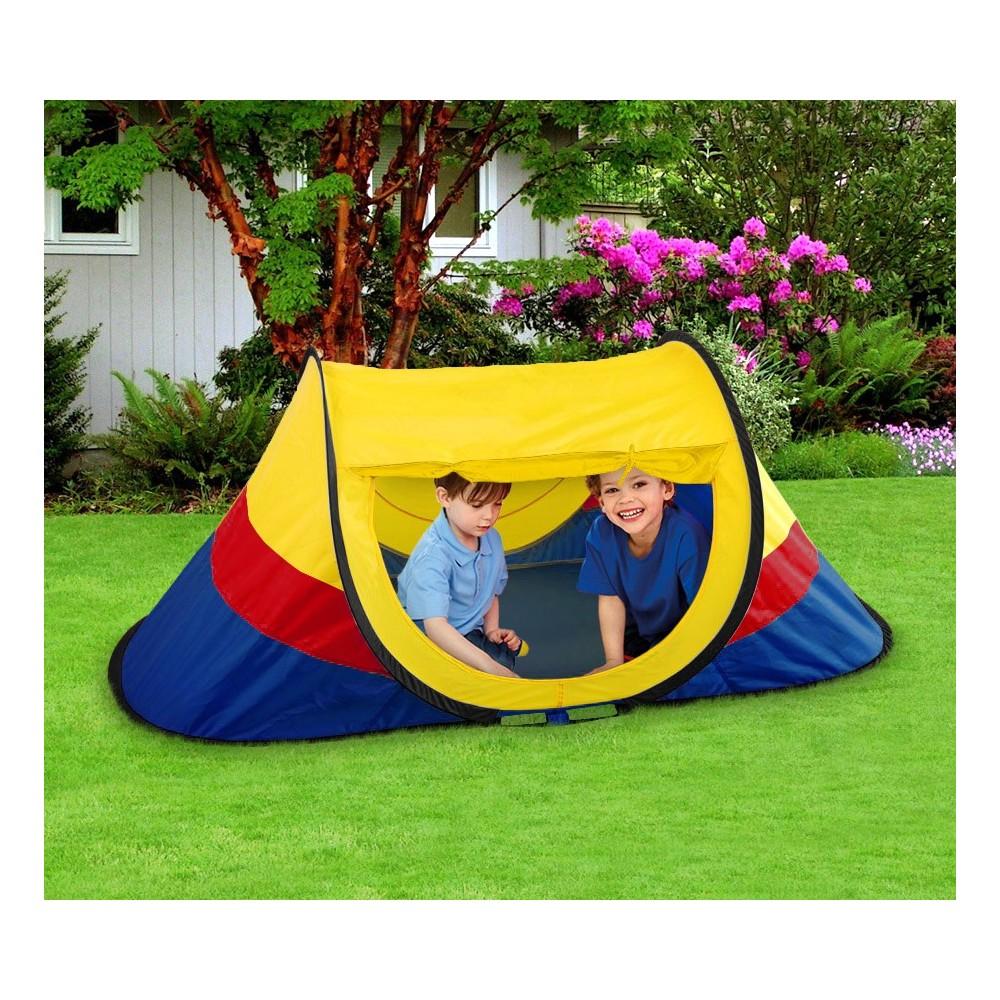 167816 Tenda da gioco per bambini 170x85x70 cm con sistema pop up Cigioki