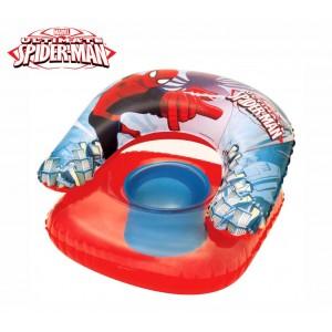 Image of 98008 Poltroncina gonfiabile per bambini Spiderman giochi acquatici Bestway 8064515206816