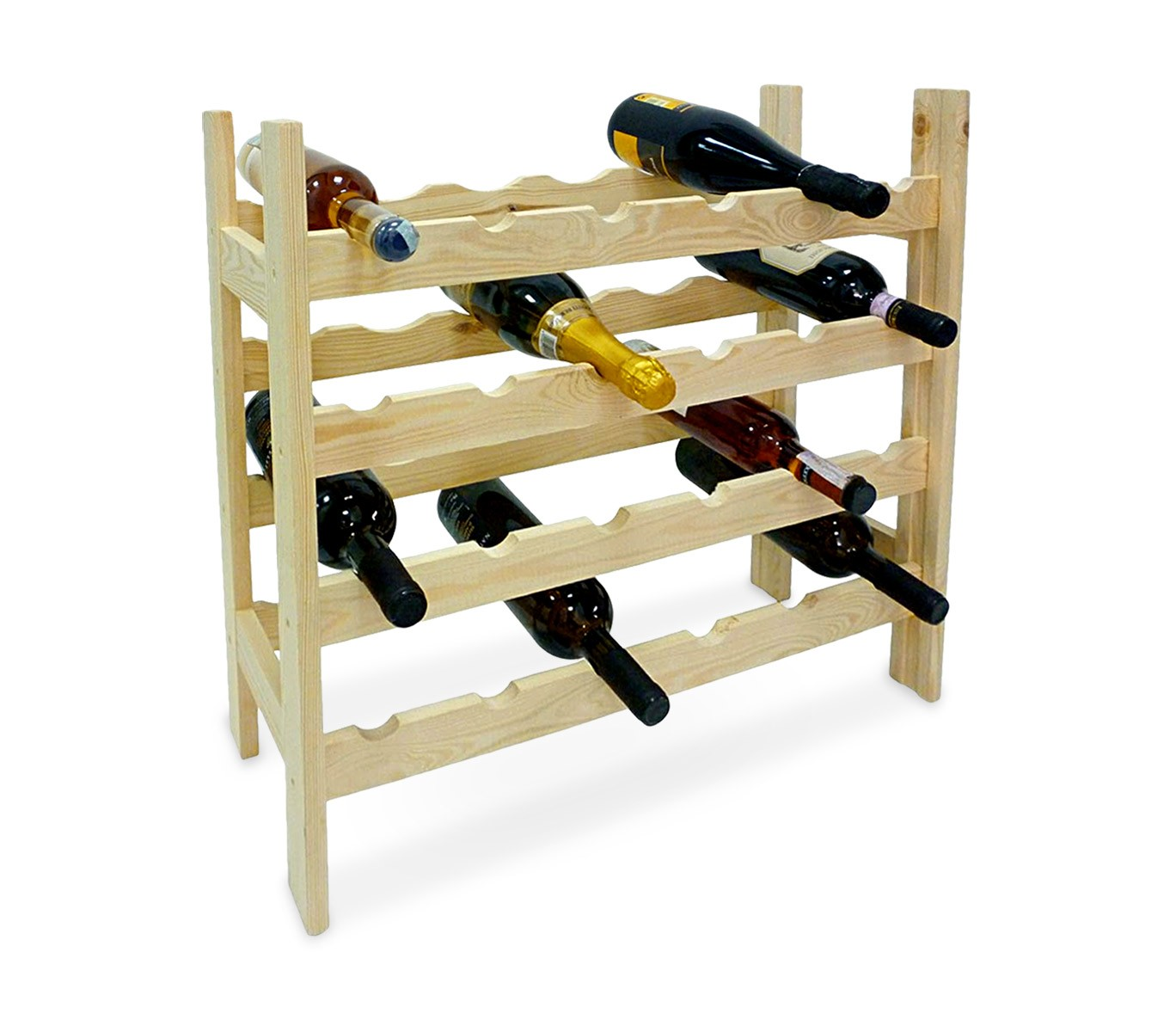 Porta bottiglie di vino arsenal in legno da muro cantina a muro per bottiglie di vino da posti - Cantinetta vini ikea ...