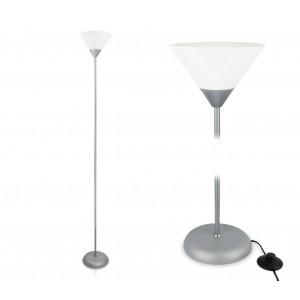 Image of Lampada da terra 178 cm design moderno con paralume in plastica LIFETIME 8020001360004