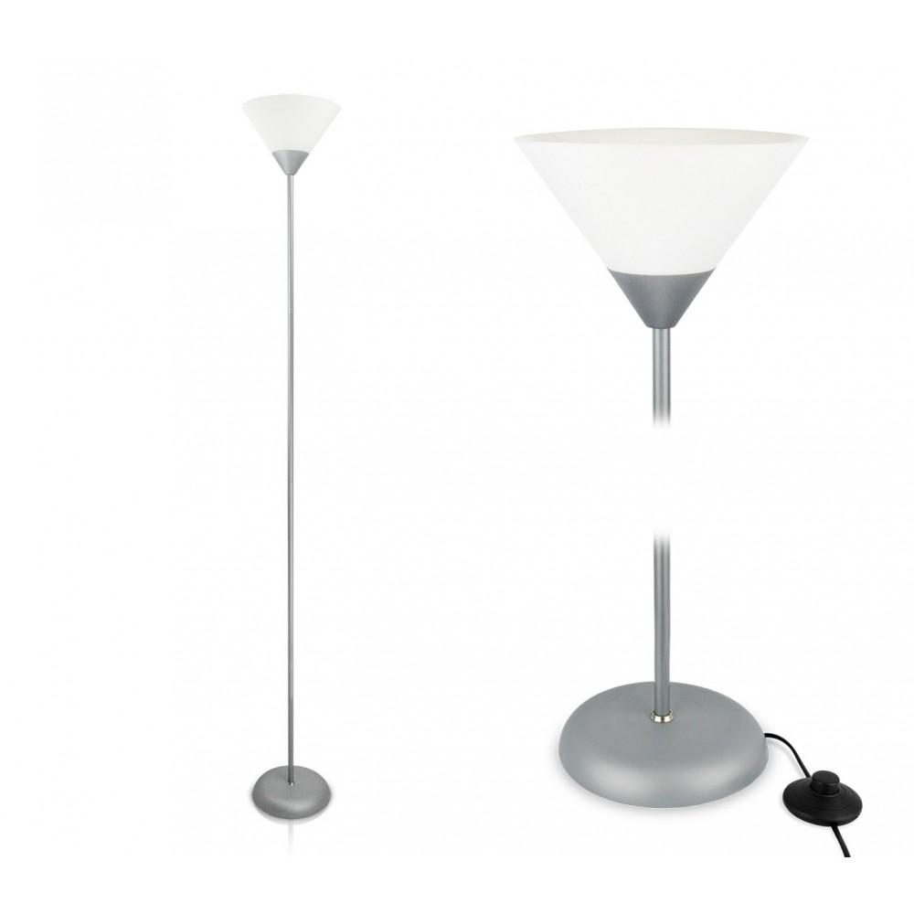 Lampada da terra design moderno con paralume in plastica LIFETIME