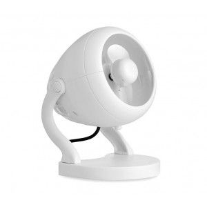 Mini ventilatore usb da tavolo 13 cm con rotazione a 360° e tasto di accensione
