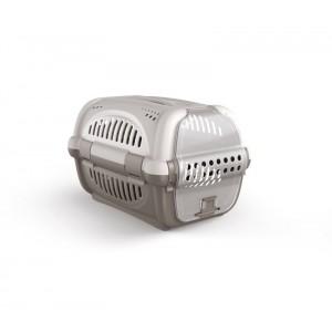 Image of 10569 Trasportino in plastica modello Rhino per cani e gatti da viaggio 51 cm 8073816301854