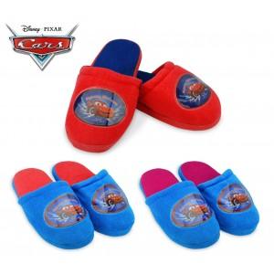 305-444 Pantofole invernali con interno in pile per bambini Disney Cars