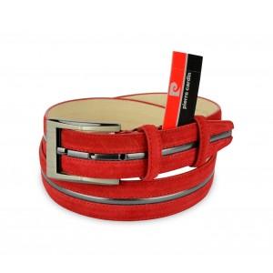 Image of R003 Cintura regolabile uomo Pierre Cardin in pelle scamosciata 8010060866425