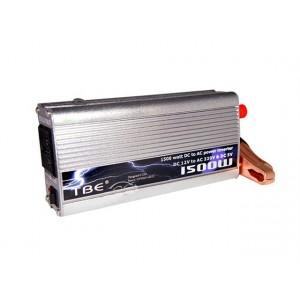Image of Inverter 1500 watt 12v 220v ac presa auto viaggio barca camper 797337290654