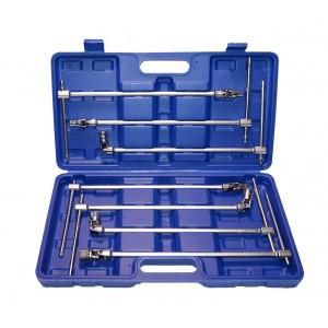 WK2205 Kit chiavi a T con bussola esagonale snodabili 7 pezzi in valigetta