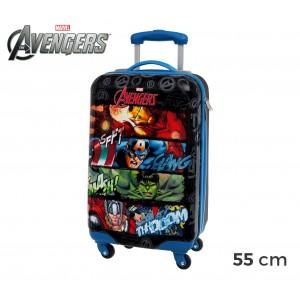 4411451 Trolley bagaglio a mano rigido in ABS Avengers Marvel 55 x 33 x 20 cm