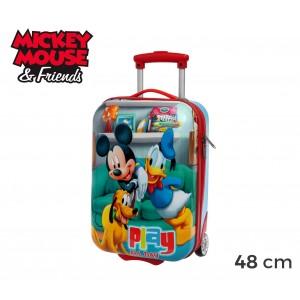 4521151 Trolley bagaglio a mano rigido ABS Mickey Mouse & Friend 48 x 30 x 18 cm