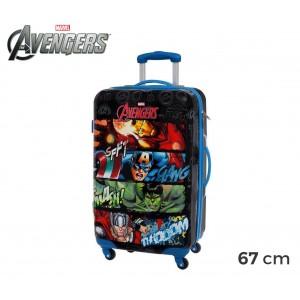 Image of 4411551 Trolley da viaggio rigido in ABS The Avengers 67 x 42 x 24 cm 8018434925679