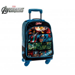4412851 Trolley convertibile in zaino The Avengers 47 x 33 x 21cm
