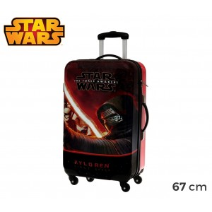 4641551 Trolley da viaggio rigido in ABS Star Wars 67 x 42 x 24cm