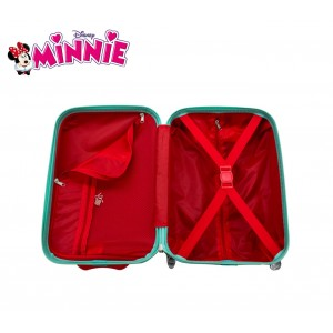 4421151 Trolley da cabina rigido in ABS Minnie 48 x 30 x 20cm